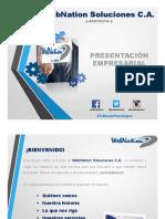 WebNation Soluciones Presentacion Empresarial