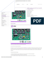 RoHS Compliant Printed Board Assembly With Guaranteed - Power - Heros Electronics