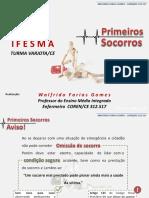 Primeiros Socorros IFESMA  Walfrido 2017