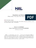 Regulation and Distrust (Aghion, Algan, Cahuc, Shleifer)