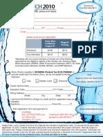 Crunch IWI Registration Form
