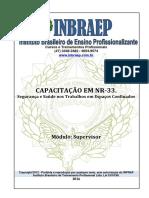 Apostila Curso Supervisor NR33-2014