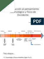 2- PP- Introducción Al Pensamiento Cosmológico y Físico de Occidente 2016 (PDF)