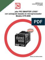 ETR 9090 Manual de Instrucciones