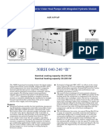 Technical Data 30RH040-240