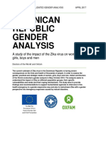 Dominican Republic Gender Analysis
