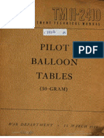 TM11-2410 Pilot Baloon Tables