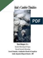 Variabilidad Cambio Climatico-Mario Bidegain