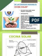 Informe de Cocina Solar