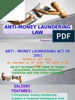 Anti – Money Laundering Law