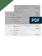 CAPE Pure Mathematics Unit 2 Practices question
