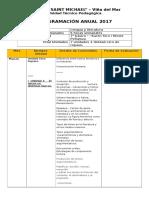 Propuesta de planificación Saint Michael-Lengua y literatura  7°