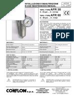 Air filter regulator AFR35.pdf