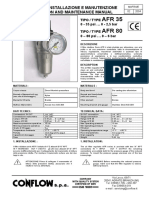 Air filter regulator AFR35.pdf