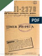 TM11-2378 Timer PH-191-A