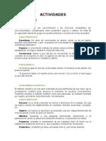 ACTIVIDADES-libro Sampieri de La 1 a 4