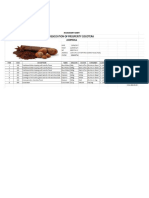 Evidencia Inventory Sheet
