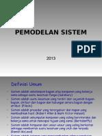 03 Pemodelan Sistem