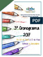 3ºcronograma 2017