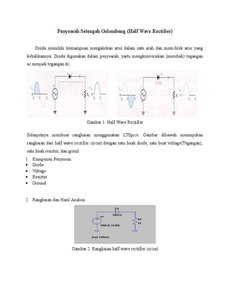 Half wave rectifier full wave rectifier zulkarnain ccuart Image collections