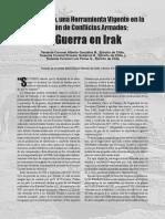 Estrategía en La Guerra de Irak, Military Review