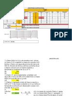 Planilha de Granulometria - COM DADOS DO ENSAIO