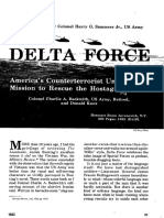 Fuerza Delta en Iran, Military Review
