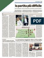 Il Tirreno Lucca 22-04-2017 - Calcio Lega Pro