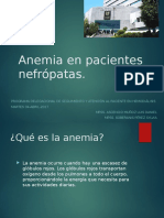 Anemia Nefropatas TSR HEMODIALISIS HGR #1