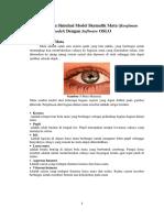 Pemodelan Optikal Mata Manusia Dengan Software OSLO