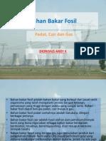 Bahan Bakar Fosil