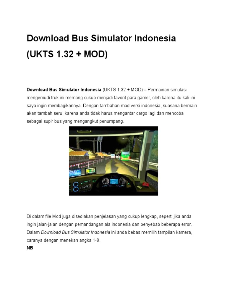 Download Bus Simulator Indonesia