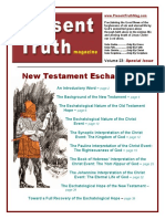 PTM 23 New Test Eschatology