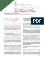 Criterios de Ingreso en Enfermedad Cerebrovascular Aguda.