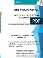 Presentacion de Patentes
