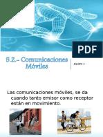 5.2.- Comunicaciones Móviles