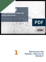 Estructura Del Estado Peruano Presentacion Ceplan