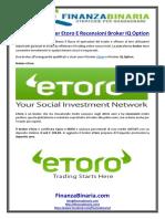 Recensioni Broker Etoro E Recensioni Broker IQ Option