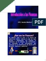 Finanzas y Planificación Financiera