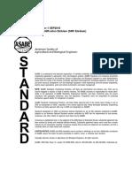 ANSI ASABE S261.7 FEB1989 (R2011)
