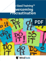 Bite Sized Training Over Coming Procrastination