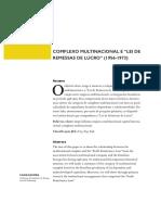 CAMPOS - Complexo Multinacional e Lei de Remessa de Lucro