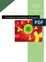 Les Méthodes Immunologiques de Diagnostic