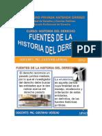 1 2 Fuentes de La Historia Del Derecho