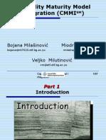 Capability Maturity Model Integration CMMISM