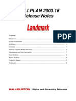 Well Plan Release Notes