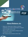 Reliance Jio Ppt