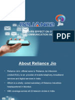 Reliance Jio Ppt