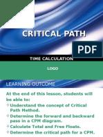 6c. Chapter 5-Critical Path (Part 3)