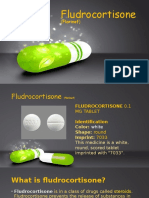 Fludrocortisone (Florinef)
